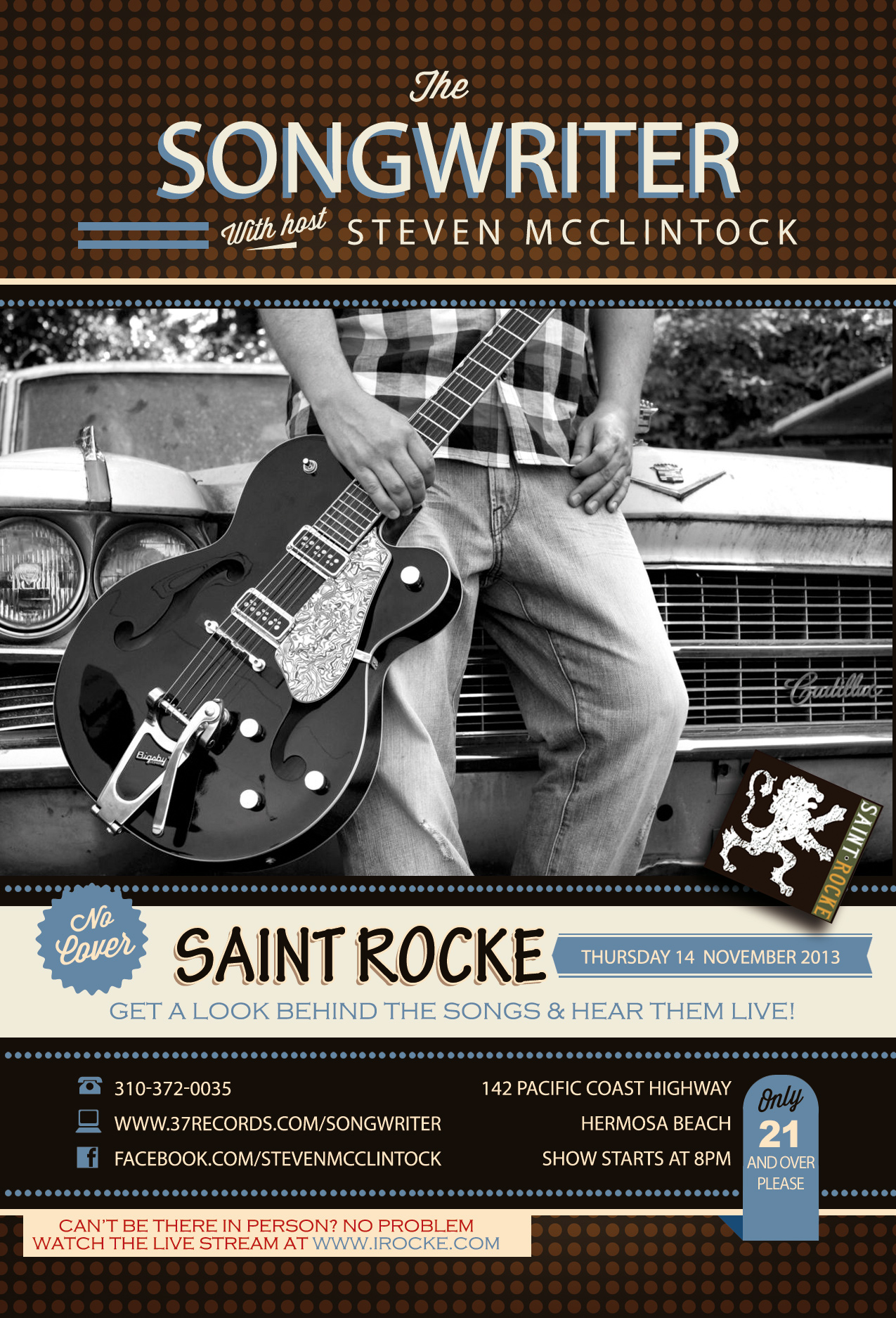 The Songwriter with host Steven McClintock